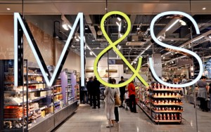 Marks and Spencer predajňa