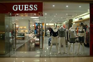 Guess predajňa