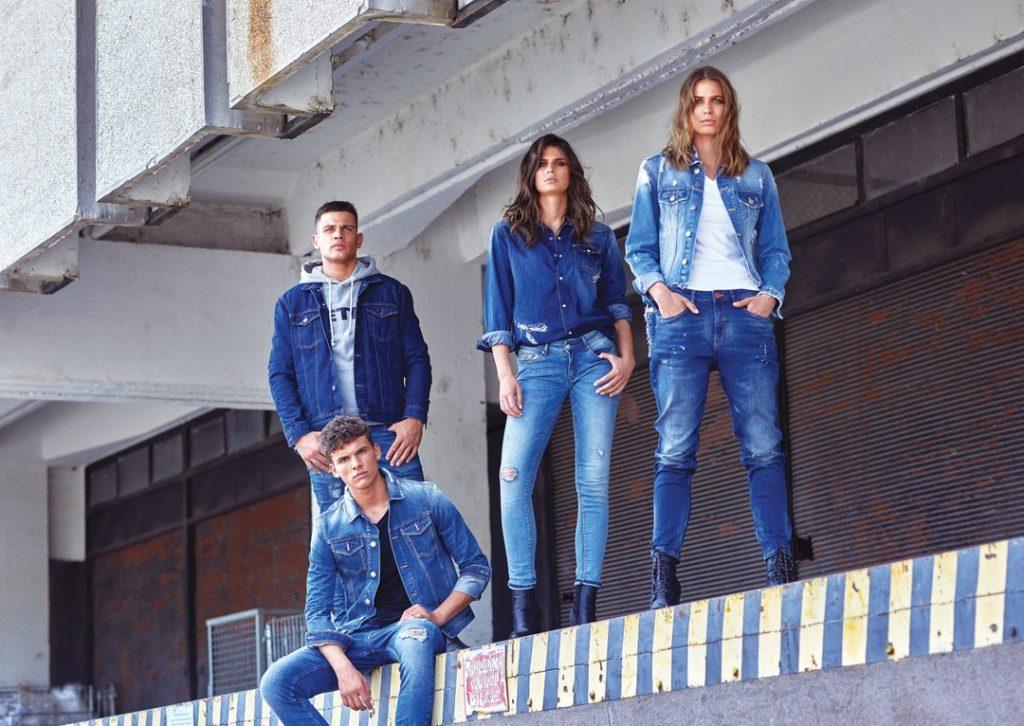 Retro Jeans - džínsy do voza i do koča