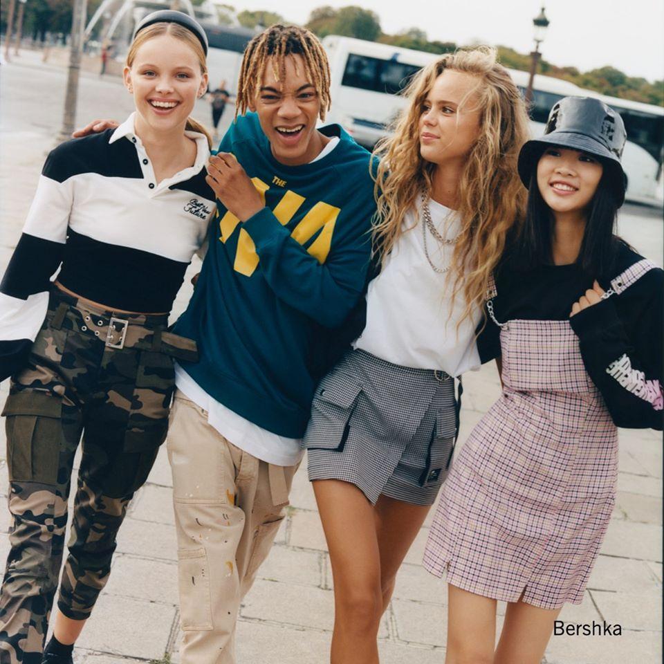 Bershka - priekopnícka móda pre mladé ženy a mužov